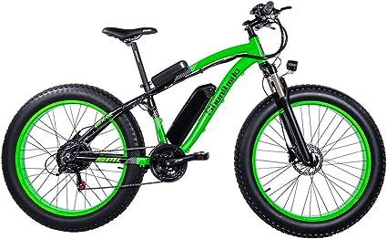 GUNAI Bicicletas Electricas Neumaticos Bicicleta 26 Pulgada 1000w ...