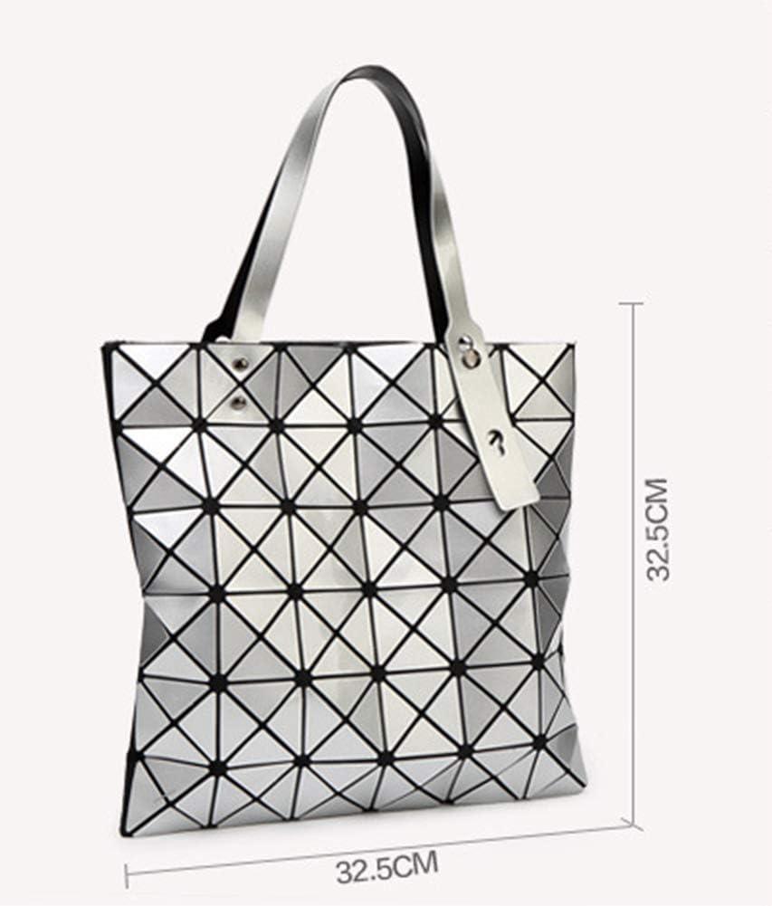 OOFAY Borsa A Tracolla Borsa A Mano Geometry Diamond Lingge Borsa A Mano Lady Bag Fashion Personality Dark blue