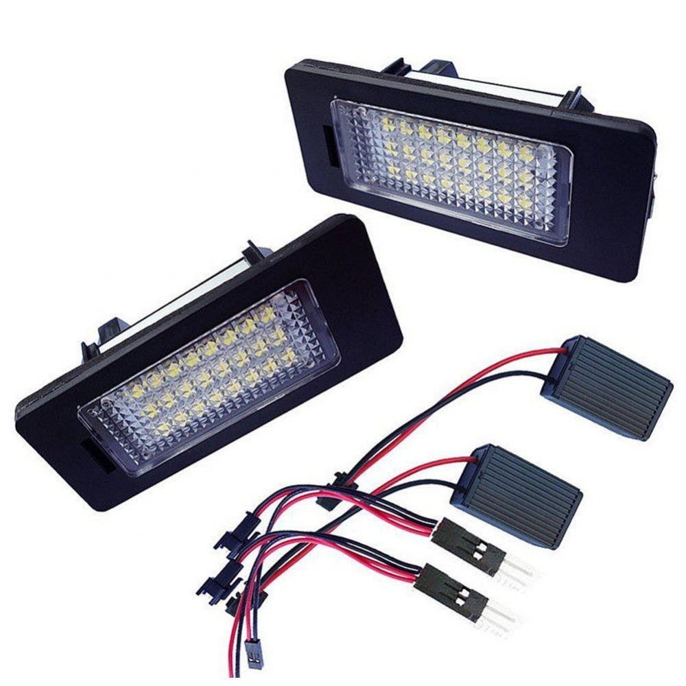 Targa LED La Luce Giorno 24-SMD Bianco Per BMW E90 M3 E92 E70 E39 F30 E60 MagiDeal
