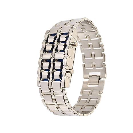 Amazon.com: Reloj de pulsera Haihuic Volcánico de estilo ...