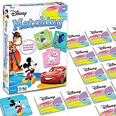 Wonder Forge Disney Classic Characters Matching Game for Boys & Girls Age 3 to 5 - A Fun & Fast Disney Memory Game: Unknown: Toys & Games