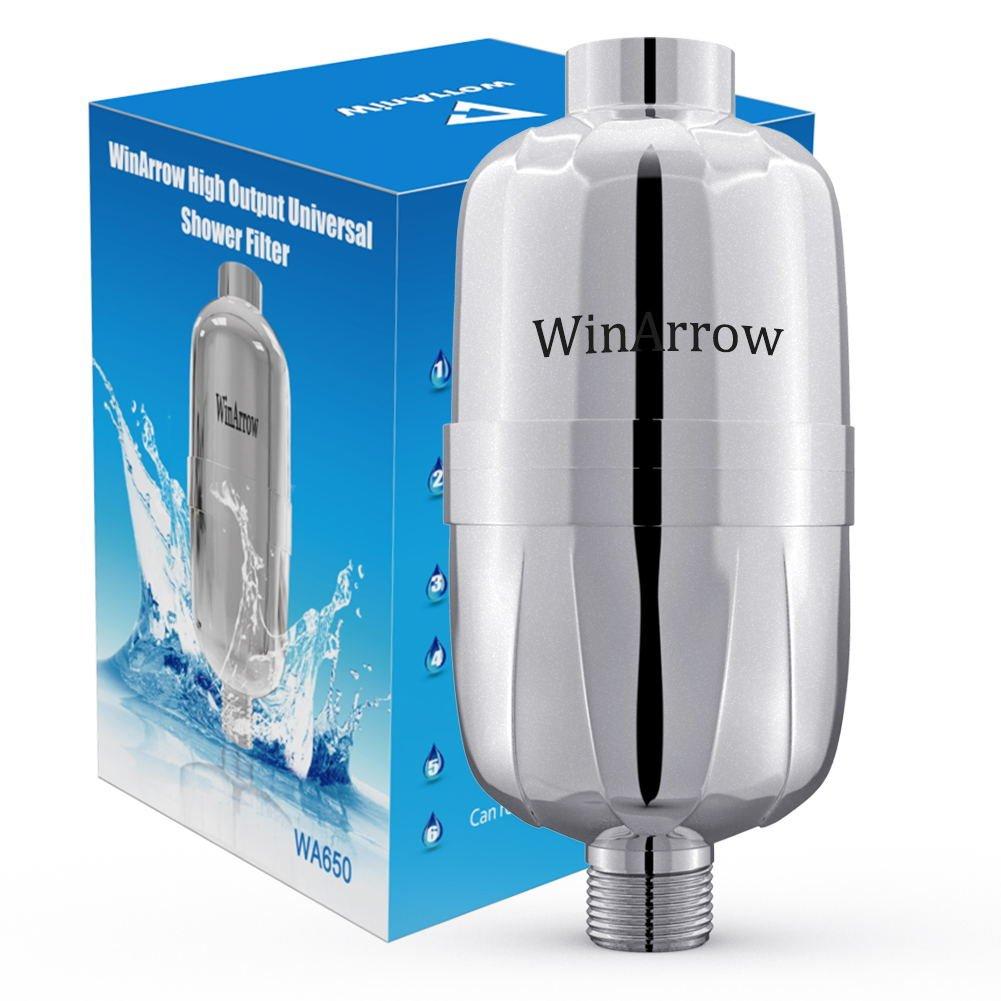 WinArrow etapas reemplazables de alto rendimiento universal de largo tamaño ducha filtro