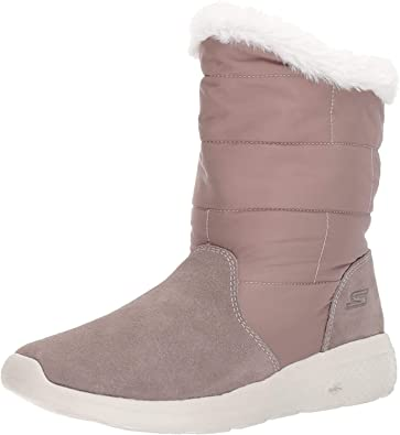 Confundir frío excepción  Amazon.com | Skechers Women's On-The-go City 2-Puff Winter Boot | Mid-Calf