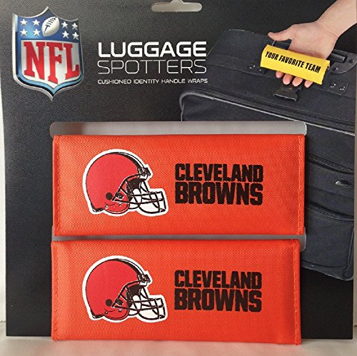 set-of-two-browns-luggage-spotter-suitcase-handle-wrap-bag-tag-locator-with-id-pocket-cleveland-clos