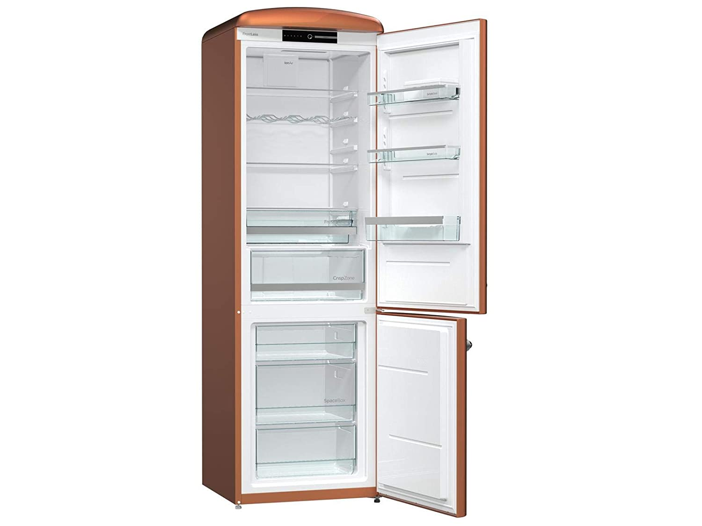 Gorenje Kühlschrank Crispzone : Gorenje ork cr stand kühl gefrier kombination copper braun