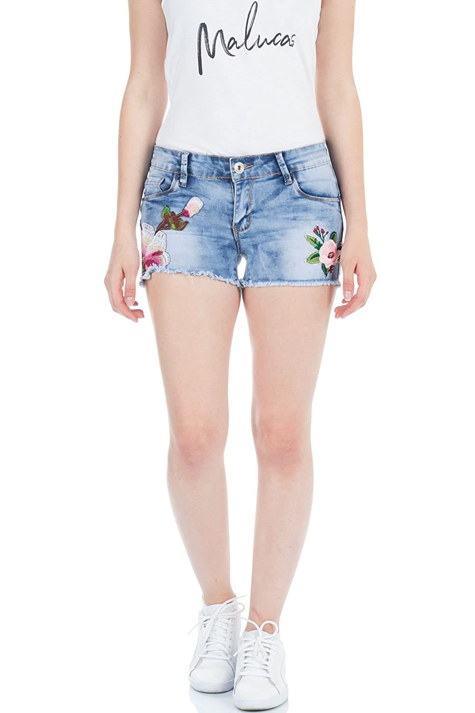 malucas Short - Taille Ajustée - Femme  Amazon.fr  Vêtements et accessoires ad646ed64f54