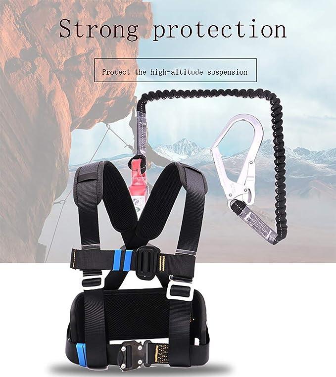 YFASD Kits Anticaídas Arnés Buffer Arnés De Seguridad Ajustable ...