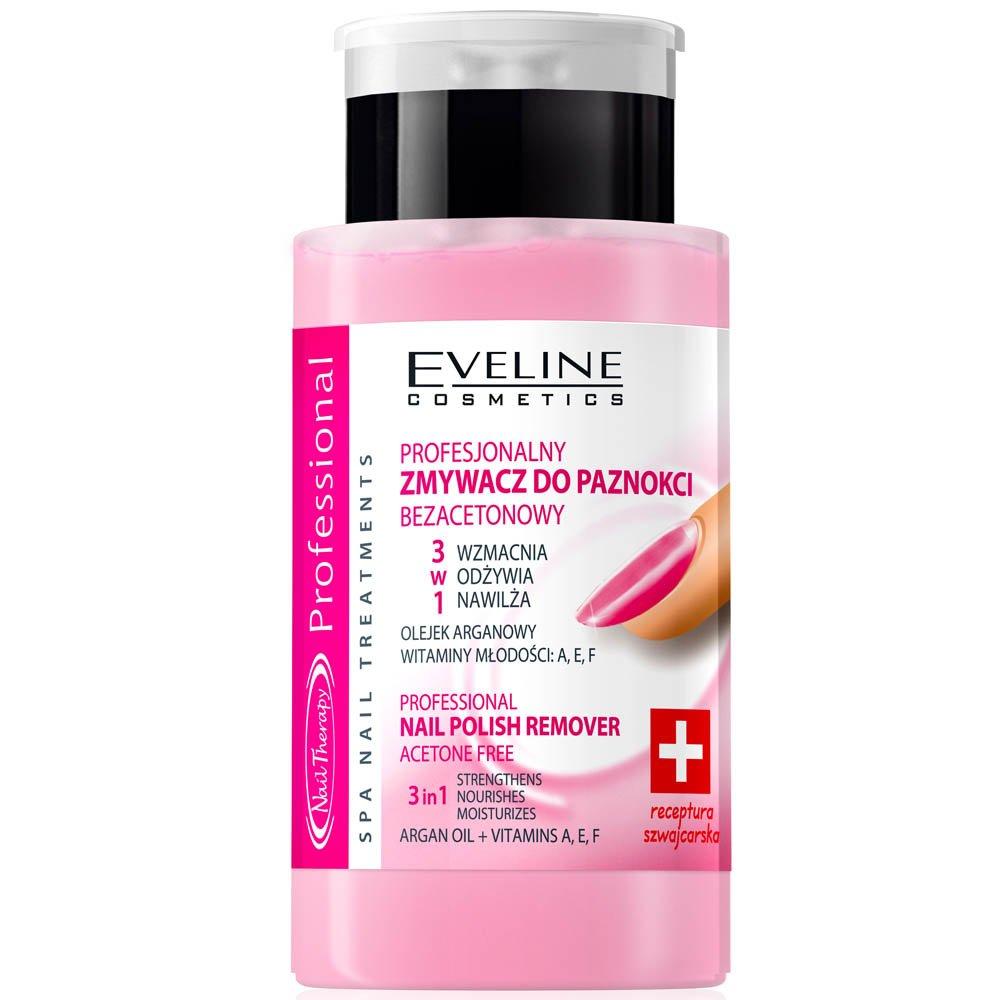 EVELINE Cosmetics Nail Therapy Nail Polish Remover Acetone Free 190ml