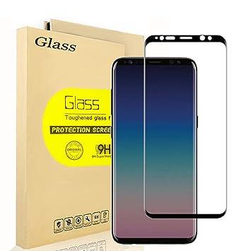 Samsung Galaxy S9 plus Protector de Pantalla, AOLANDER 3D Pantalla Completa Cristal Vidrio Templado Premium