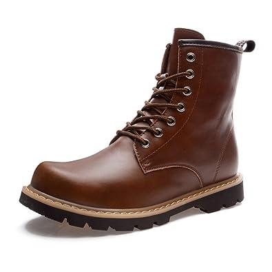 メンズ ショートブーツ レイン レディース 革靴 編み上げ ボア 雪 スノーシューズ ビジネスシューズ 雨靴 紳士靴