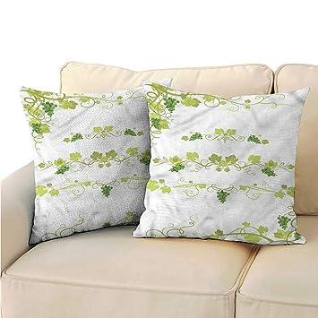 Amazon.com: Ediyuneth - Funda de cojín para sofá o cama ...