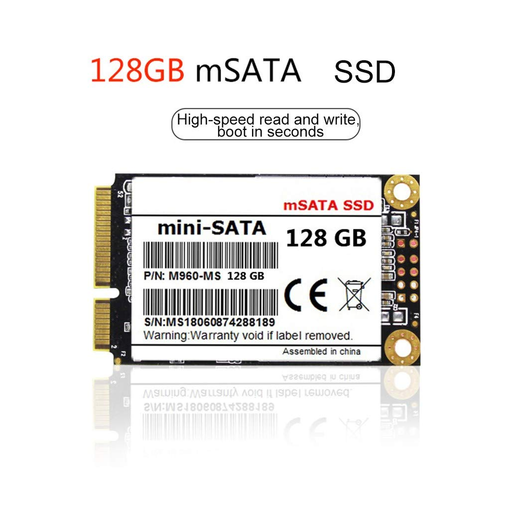 HWENJ Mini Sata SSD Msata SSD Sata3 SataⅢ Disco De Unidad Estado ...