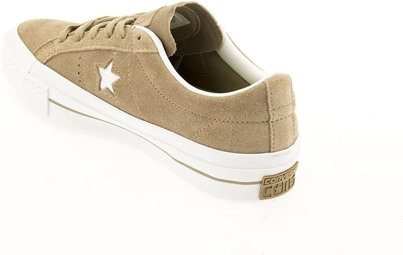 Converse 153965C Stella Sneakers camoscio beig: Amazon.it