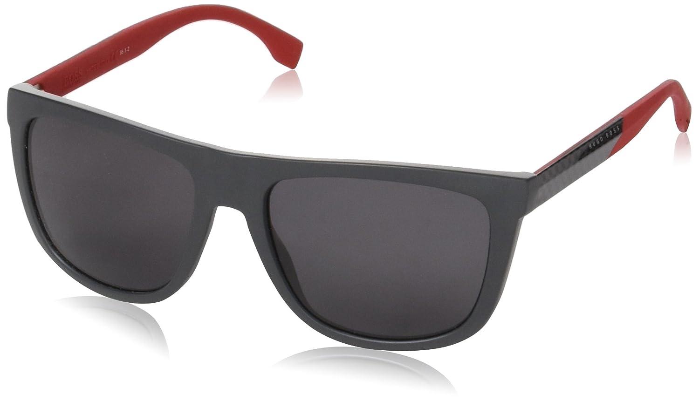 Amazon.com: Hugo Boss Boss 0834/S hws3h (– Rojo con lentes ...