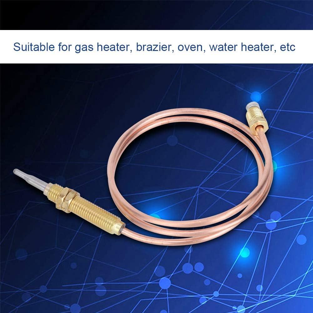 M8 fil de Chauffage Br/ûleur /à Gaz Thermocouple 600mm pour Chemin/ée Barbecue Grill Accessoires Thermocouple