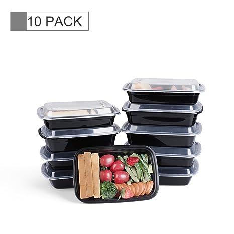 Amazoncom Glotoch Bento Box 38 Ounce Wholesale 1 Compartment