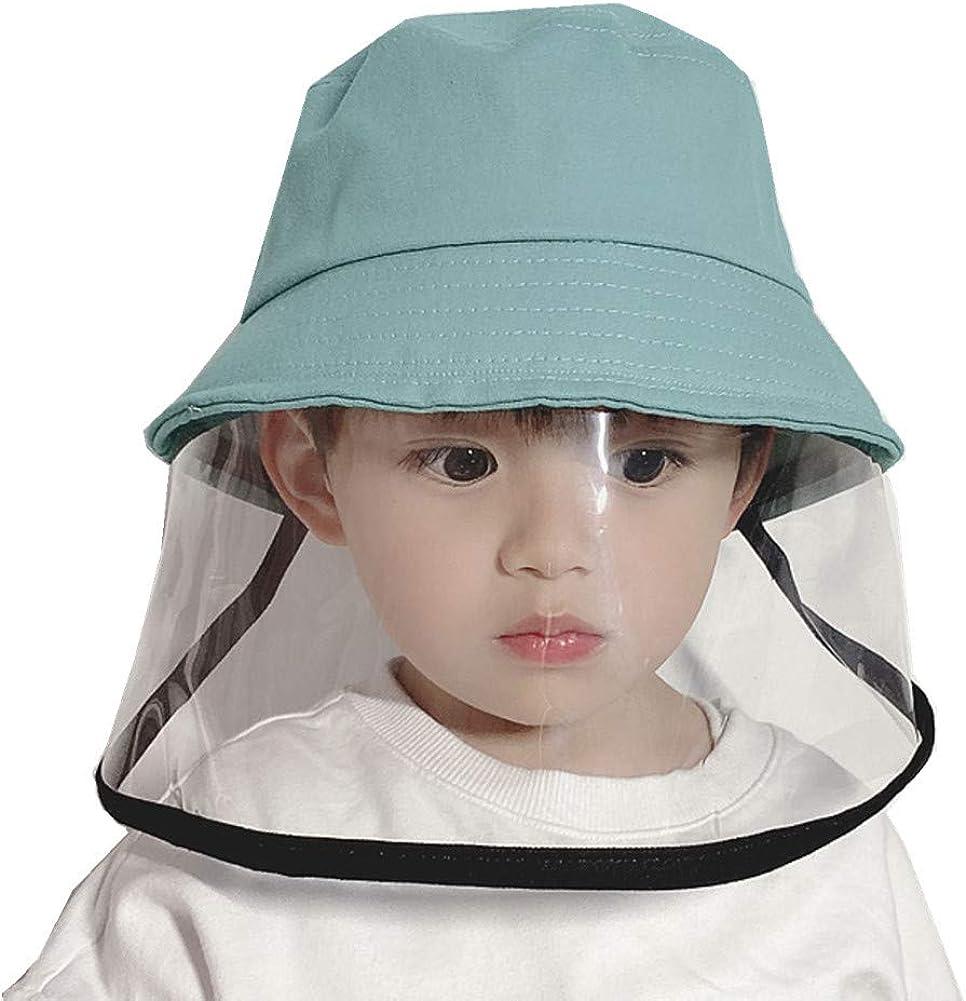 G' abigale Fairy Kids Anti-Saliva/Anti-Droplet/Anti-Wind and Dust/Anti-UV Sun Protection Wide Brim