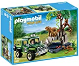 PLAYMOBIL® Jungle Animals with Researcher and Off-Road Vehicle