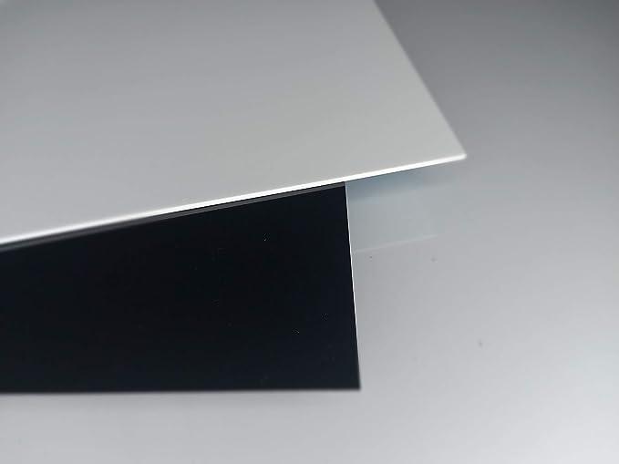 35 x 32 cm Acryl-Zuschnitt//Plexiglas-Platte schwarz 3mm XT