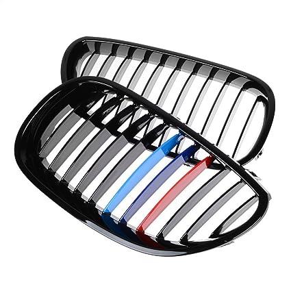 amazon gloss black m color front hood kidney grille grill for 2018 Kia Sportage amazon gloss black m color front hood kidney grille grill for bmw 5 series e60 e61 2003 2009 automotive