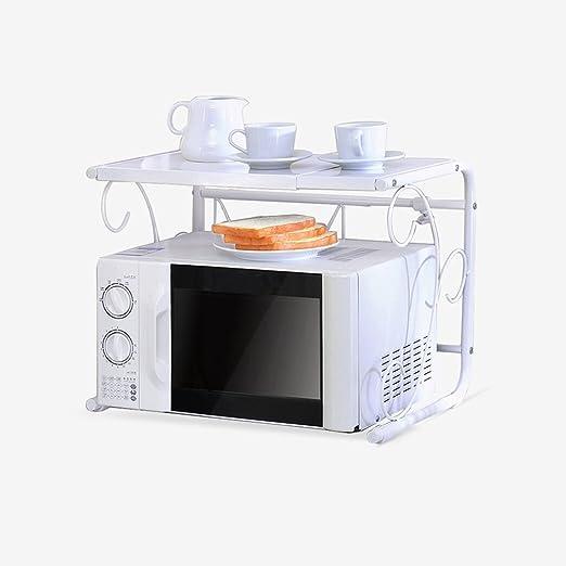 DER Kitchen - Estantería para microondas (retráctil, 40 x 36 ...
