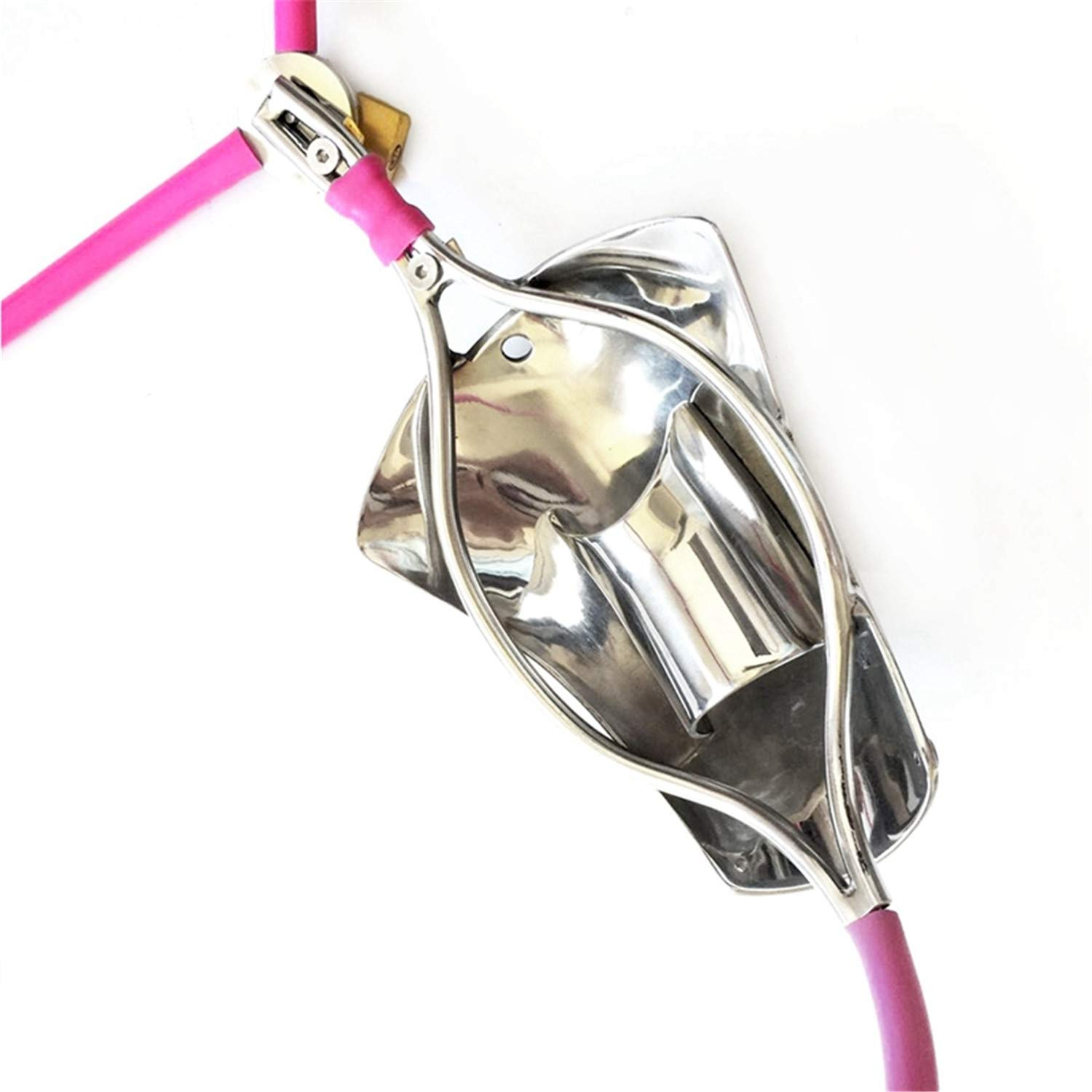 Cathet-er Sound Fully Adjustable Chastity Jeff Tribble Belt Stealth Male Stainless Steel Lock Cage Chastity Cages Adult Game Restraint Device by Jeff Tribble (Image #4)