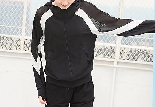 Amazon.com: hitzoom para mujer deportivo de malla con cierre ...