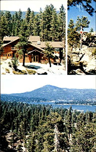 Sacred Heart Retreat Camp Big Bear Lake, California Original Vintage Postcard (Sacred Heart Retreat Camp Big Bear Lake)