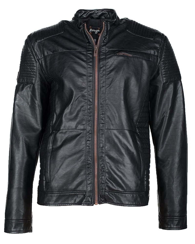 Men's Maze Jacket Braga PU (Black)