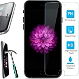 iPhone 6 / 6s Screen Protector, TekSonic 0.33mm 9H Hardness Curved Edge Crystal Clear Tempered Glass Screen Protector Film For Apple iPhone6 & iPhone6s 4.7 inches