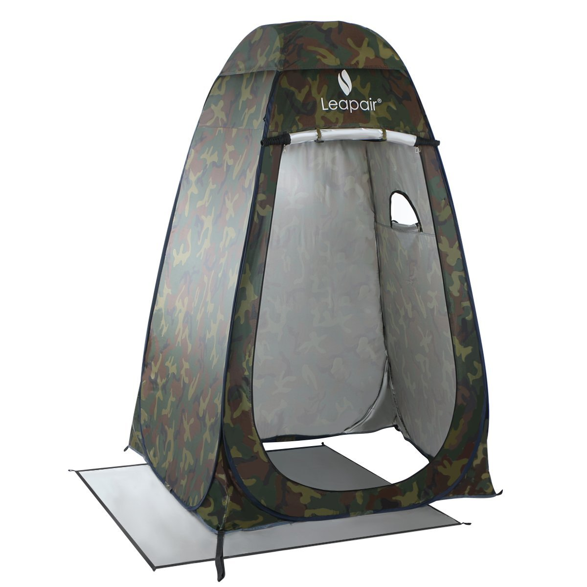 WolfWise Shower Tent Privacy Portable Camping Beach Toilet Pop Up Tents Changing Dressing Room Outdoor Backpack Shelter Camouflage Amazoncouk Sports