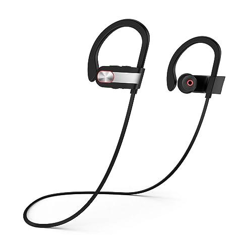 Auriculares Inalámbricos, YXwin Auriculares Deportivos Bluetooth 4.1 in earcon el Metal Con Micrófono para Iphone