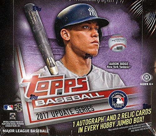 2017 Topps Update MLB Baseball JUMBO box (10 pk) ()