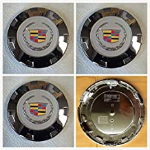 """Gosweet Brand NEW Set of 4 Pieces 200mm Hubcaps CHROME Wheel center caps hubcaps For 2007-2014 CADILLAC ESCALADE 22"""" WHEEL CENTER CAPS 9598677 Fast Shipment"""