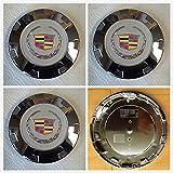 Brand New 4 Pieces Set GM Cadillac Escalade 22 inch wheel center Hub caps 9597355 / 9598295/9598677 2007 2008 2009 2010 2011 2012 2013 and 2014 2015 Escalade US Fast shipment