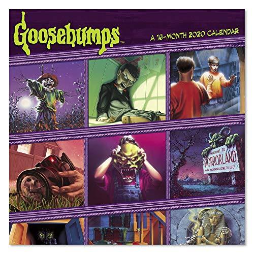 2020 Goosebumps Wall Calendar (DDW3142820)