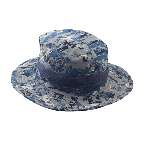 d0b62bcf1cda8 Image Unavailable. Image not available for. Color  MAIYU Boonie Hat Military  Waterproof Cap Woodland ...