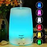 Innoo Tech Aroma Diffuser, 300ml Aromatherapy, Essential Oil Diffuser, Ultrasonic Humidifier & Cool Mist Humidifier…