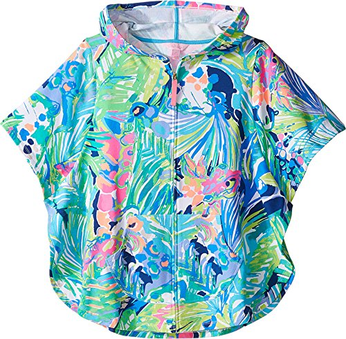 Lilly Pulitzer Kids Baby Girl's Ashlee Cover-Up (Toddler/Little Kids/Big Kids) Multi Purrfect Swimsuit Top (Lilly Bathing Suits)