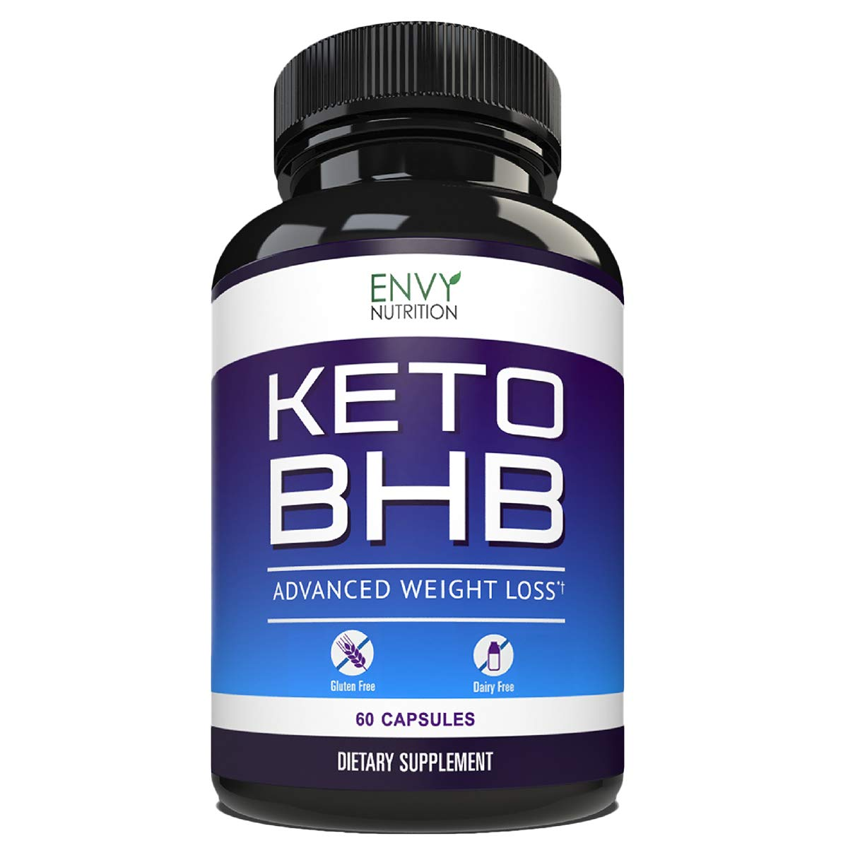 Best Keto Diet Pills – Advanced Weight Loss - BHB Salts Support Fat Burning, Ketosis, Improved Energy and Enhanced Focus - 60 Count