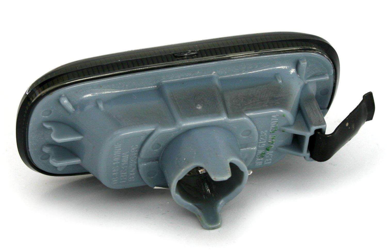 COPPIA DI INDICATORI laterali per A3/8P//A4/8E B6/ B7//A6/4/F in fumo nero blinke