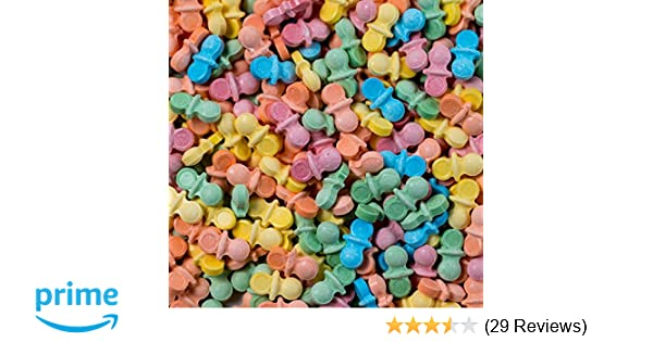 BABY Pacifier Shaped Candy - 3 Pounds Bulk with BONUS Item