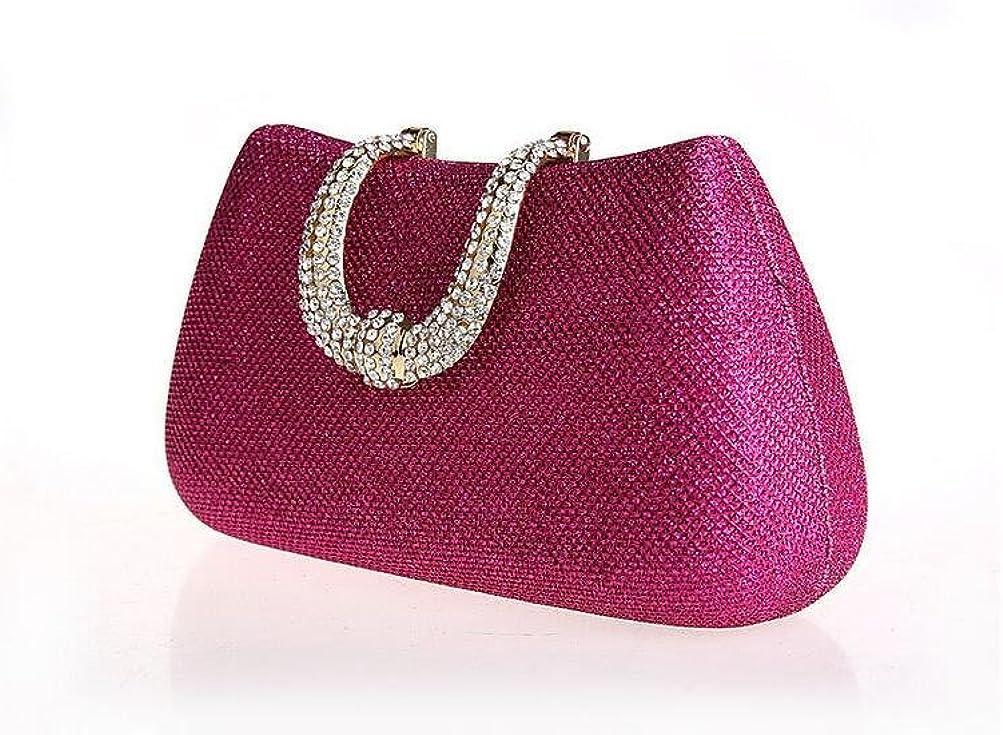 GINSIO Women's PU Leather Modern Shoulder-handbags Wristlet-handbags Evening-handbags Clutch-handbags