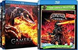 Godzilla 2000 & Gamera Trilogy (Guardian of the Universe / Attack of the Legion / Revenge of Iris) 4-Movie Bundle