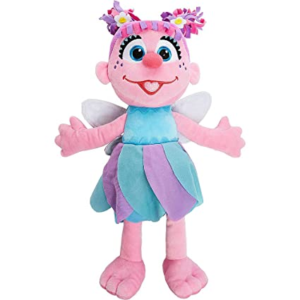 Amazon Com Sesame Street Large Abby Cadabby Plush Doll 18