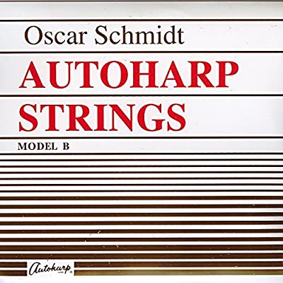 Oscar Schmidt ASB Stainless Steel Autoharp Strings, Custom by KMC Music Inc