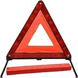 kissral Warning Triangle Reflective Safety Emergency Triangle Foldable Road Warning Triangle EU Roadside Hazard Alert…