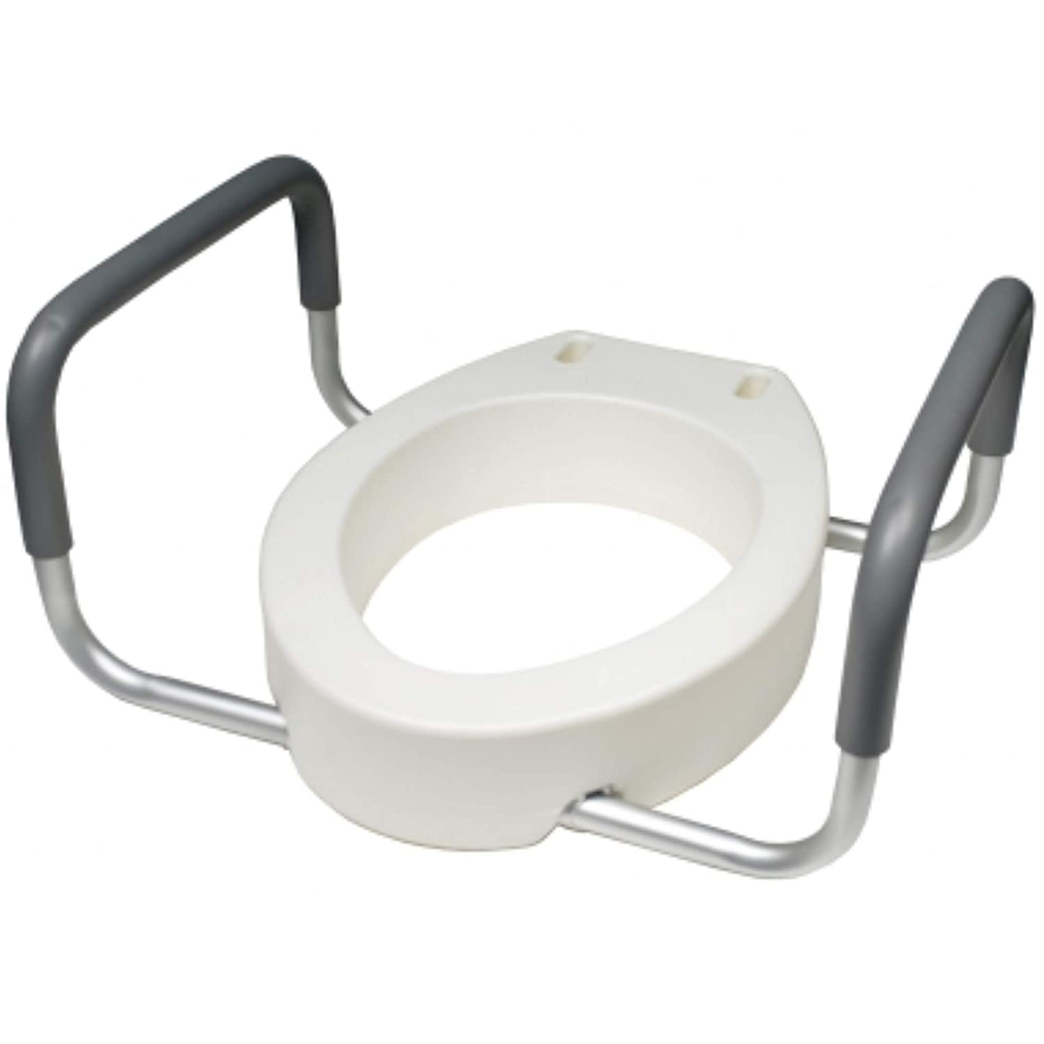 Toilet Seat Riser With Arms.Amazon Com Pivit Toilet Seat Riser With Handles Raised