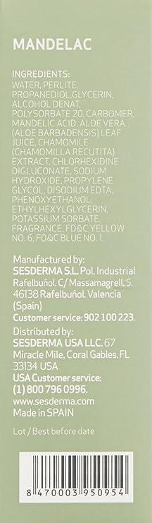 Sesderma Mandelac Scrub Exfoliante - 50 gr