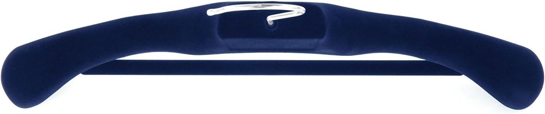 36 cm de Ancho 34 cm de Ancho Juego de 10 Perchas de pl/ástico con Barra de Pantalones Hangerworld Color Negro